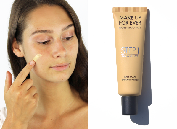 MAKE UP FOR EVER Step 1 Skin Equalizer Radiant Primer in shade 9 Yellow