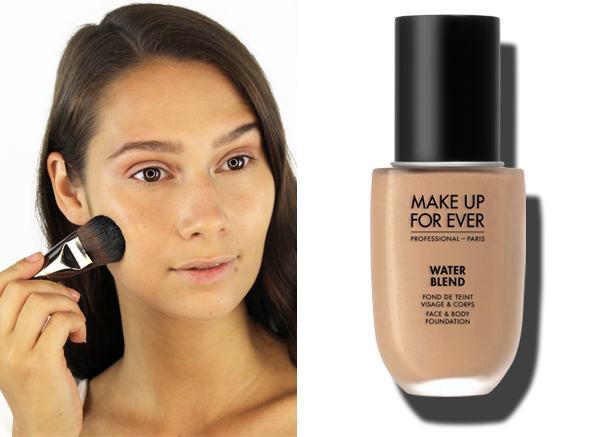 MAKE UP FOR EVER Waterblend Foundation in shade Y405