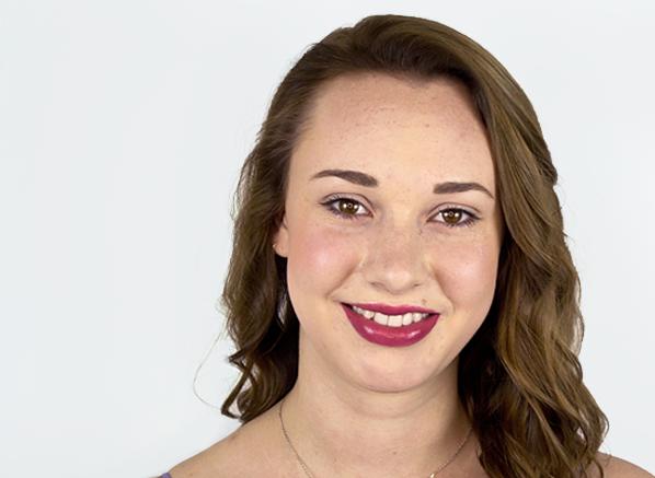 Megan-Wearing-GIVENCHY-Rouge-Interdit-Satin-Lipstick-In-10-Boyish-Rose-Swatch