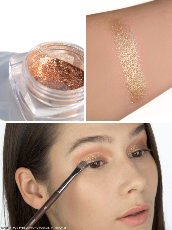 MAKE UP FOR EVER Diamond Powder in 4 Bronze