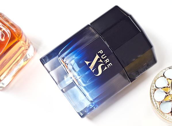 Paco Rabanne Pure XS Eau de Toilette Spray Bottle Shot Fragrance