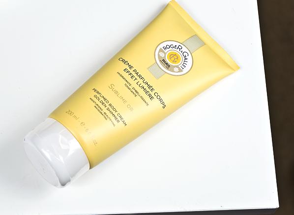 Roger & Gallet Bois d'Orange Sublime Or Perfumed Body Cream Golden Shimmer Product Shot