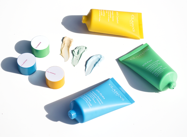The Clarins SOS Face Mask Collection Review