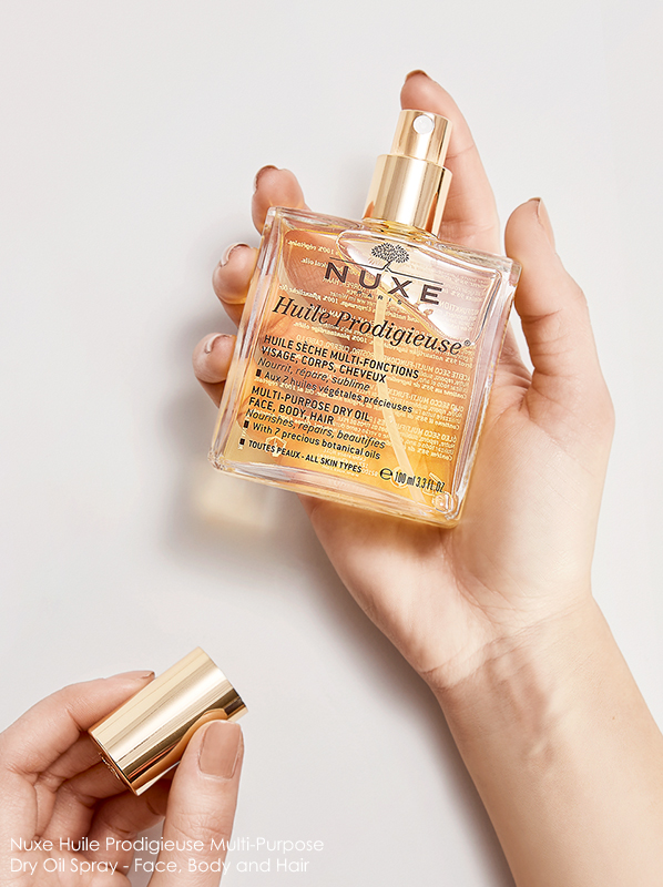 Nuxe Huile Prodigieuse Multi-Purpose Dry Oil - Face, Body and Hair