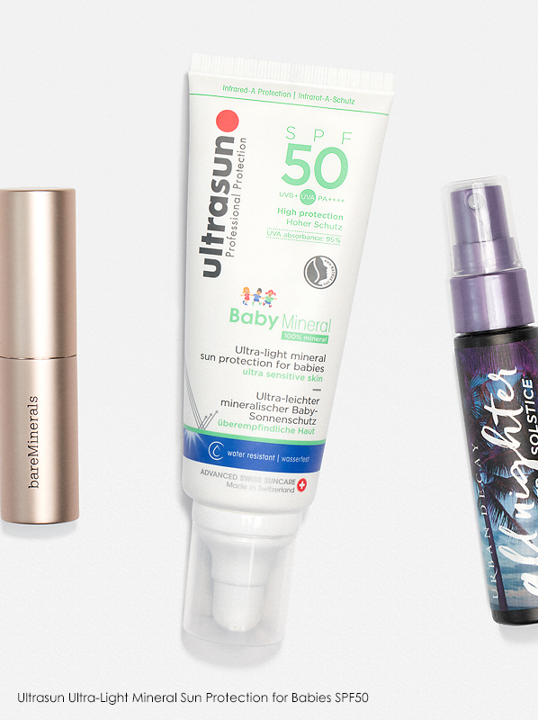 Escentual Monthly Beauty Favourites: Ultrasun Baby Mineral Ultra-Light Sun Protection for Ultra Sensitive Skin SPF50