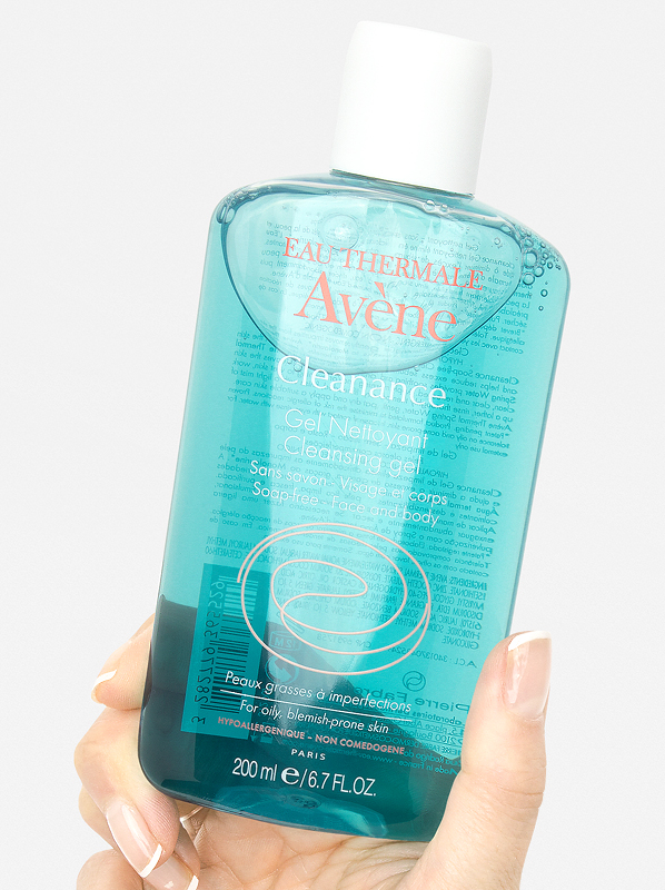 Acne Tips From Skincare Experts: Avene Cleanance Soapless Gel Cleanser.