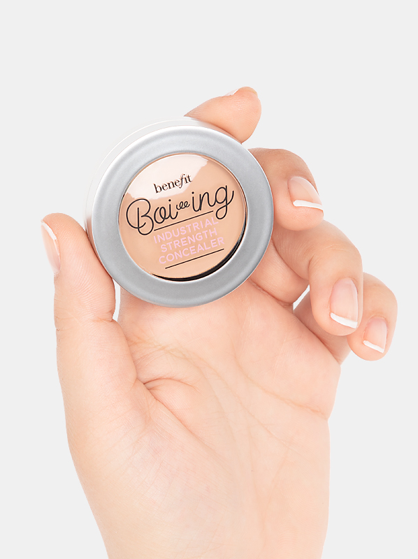 how to micro-conceal with Benefit Boi-ing Industrial Strength Concealer