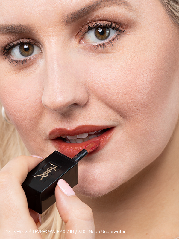Yves Saint Laurent Vernis a Levres Water Lip Stain in 610 Nude Underwater
