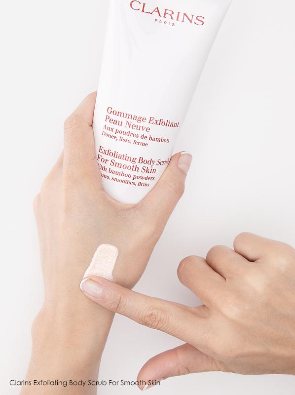 Summer Skin Concerns: Clarins Exfoliating Body Scrub For Smooth Skin