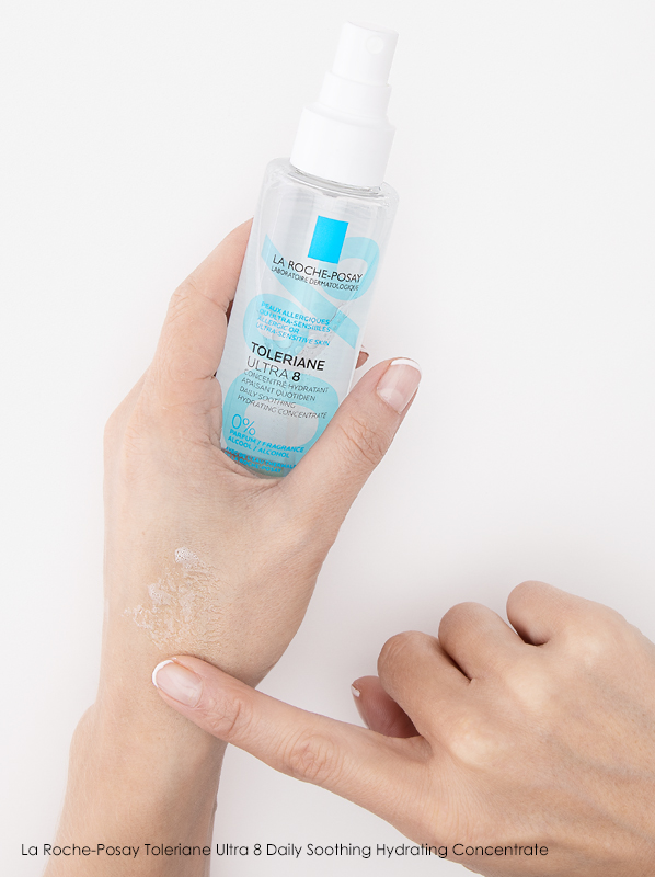 Summer Skin Concerns: La Roche-Posay Toleriane Ultra 8 Daily Soothing Hydrating Concentrate