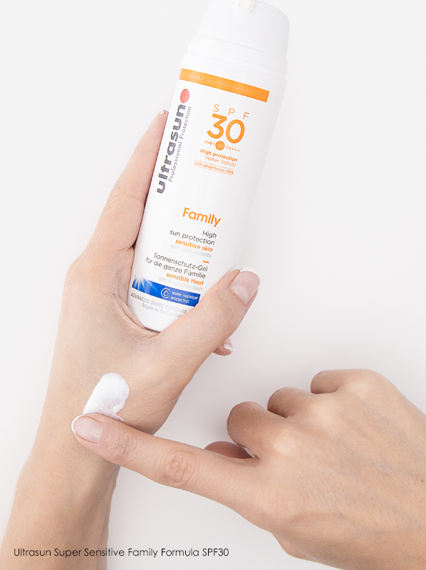 Summer Skin Concerns: Ultrasun Super Sensitive Family Formula SPF30