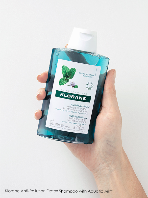 Klorane Anti-Pollution Detox Shampoo with Aquatic Mint