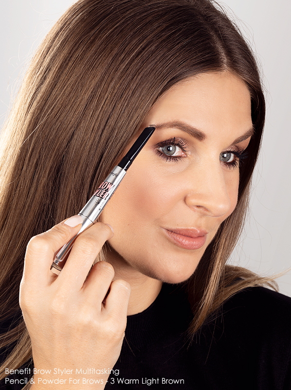 Autumn Beauty Trends: Benefit Brow Styler Multitasking Pencil & Powder For Brows in 3 Warm Light Brown