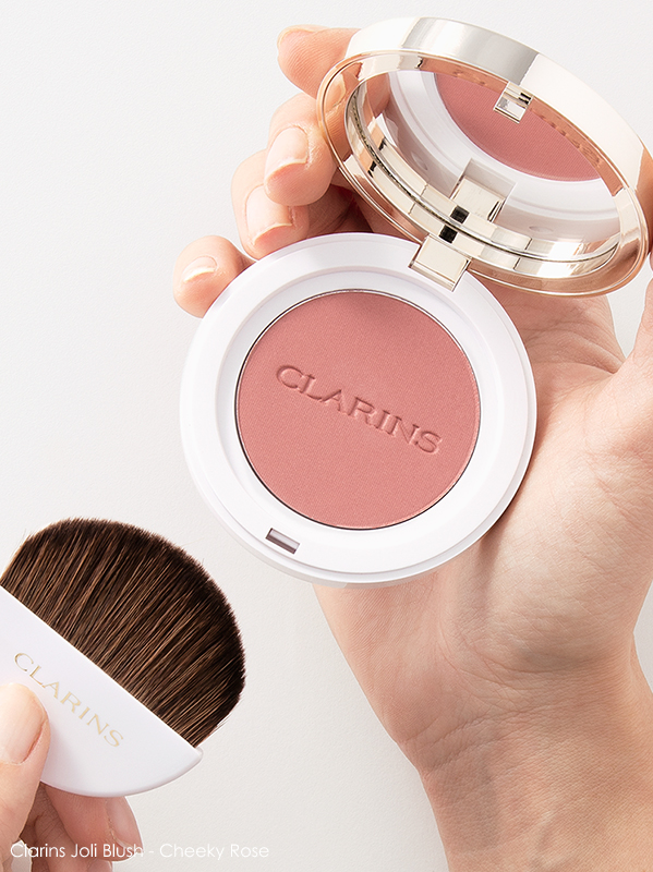How long should you keep your makeup? Clarins Joli Blush Cheeky Rose