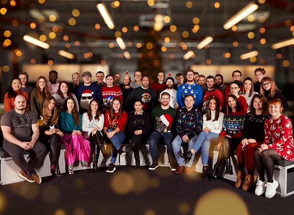 Christmas 2019 Team Escentual Photo