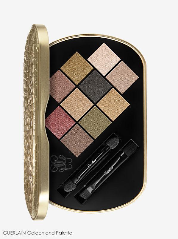 GUERLAIN Christmas 2019 Goldendland eyeshadow palette colours