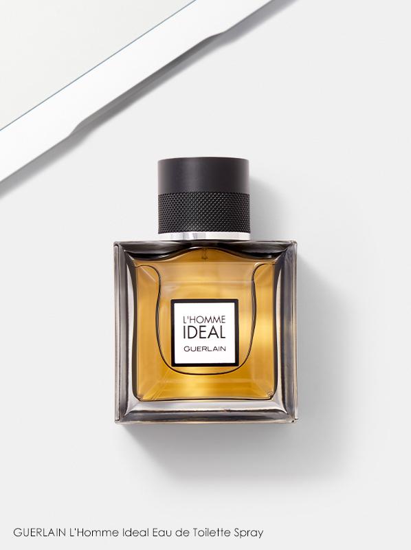 Image of Guerlain L'Homme Ideal Eau de Toilette fragrance bottle