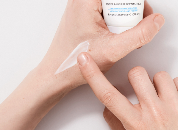 Image of Hand Cream Being Applied to Hands