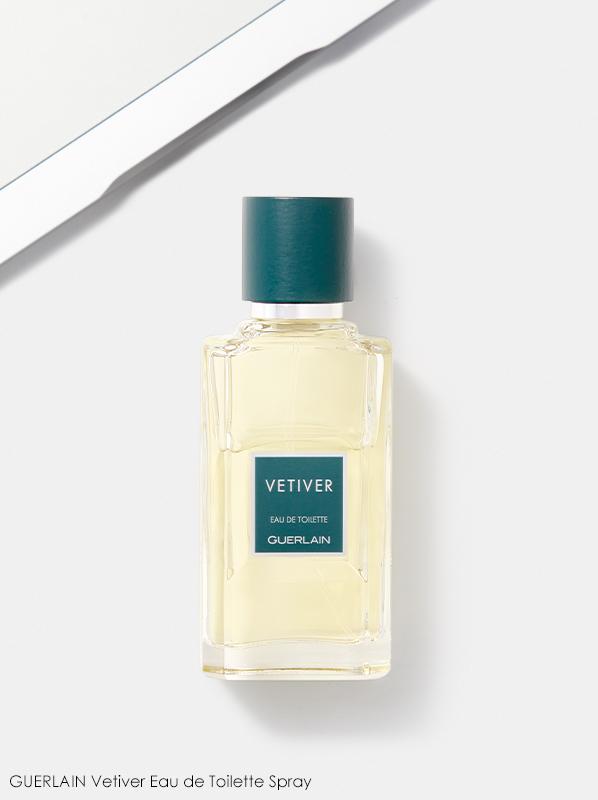 Image of Guerlain Vetiver Eau de Toilette fragrance bottle
