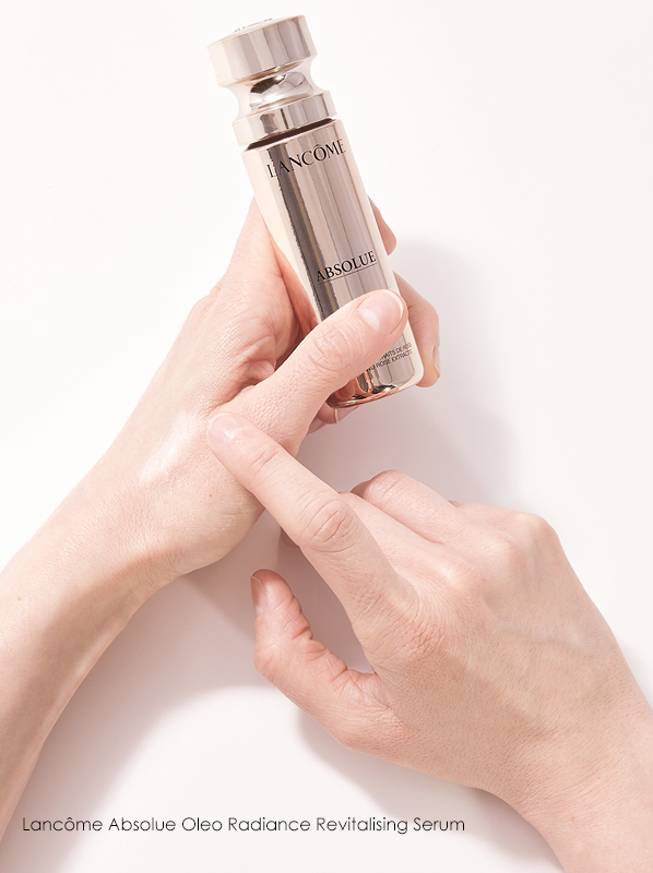 Escentual Beauty Team Favourites. Kate picks Lancome Absolue Oleo Radiance Revitalising Serum