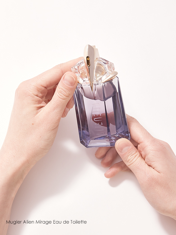 Escentual Beauty Team Favourites. Keavy picks Mugler Alien Mirage Eau de Toilette