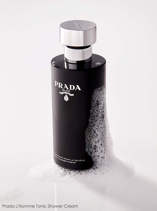 Best Shower Gels: Prada L'Homme Tonic Shower Cream