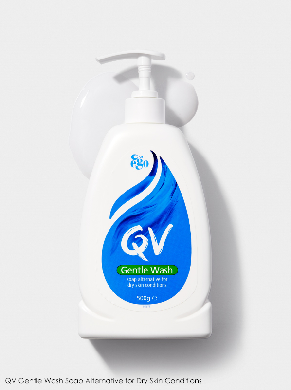 Image of QV Gentle Wash Soap Alternative for Dry Skin Conditions