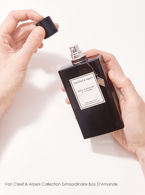 Escentual Beauty Team Favourites. Ben picks Van Cleef & Arpels Collection Extraordinaire Bois D'Amande