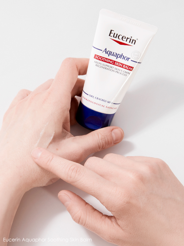 best multi-purpose moisturiser: eucerin aquaphor