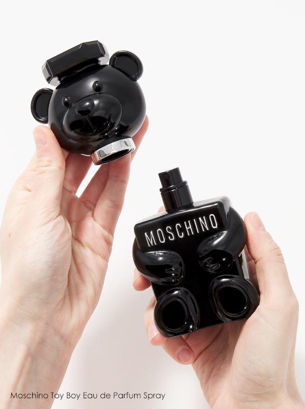 Image of Moschino Toy Boy Eau de Parfum Spray held in hands
