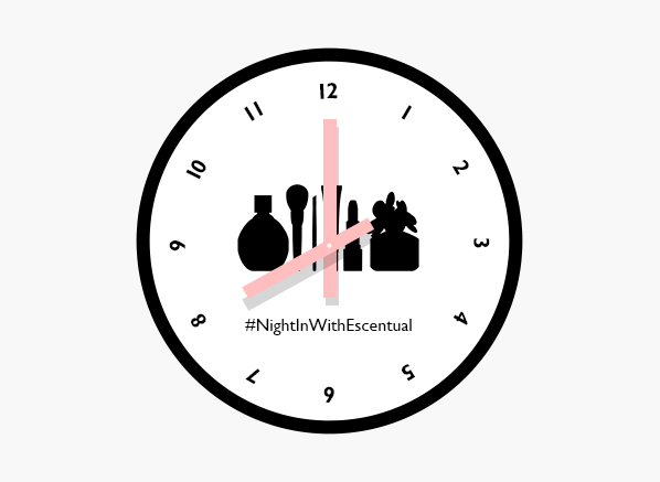 image of nightinwithescentual logo