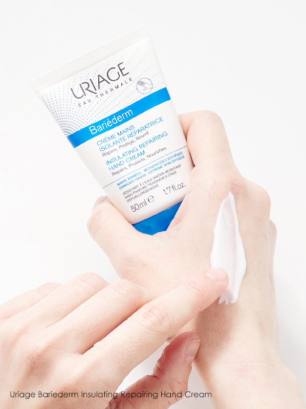 best hand cream for dry skin: Uriage Bariederm Insulating Repairing Hand Cream