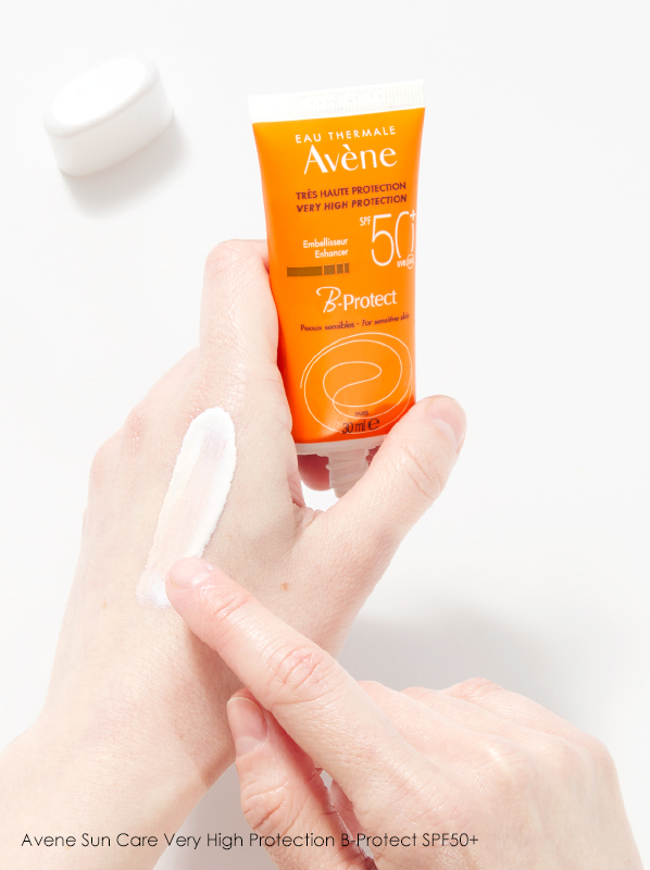 Hand image of Avene Sun Care Very High Protection B-Protect SPF50+