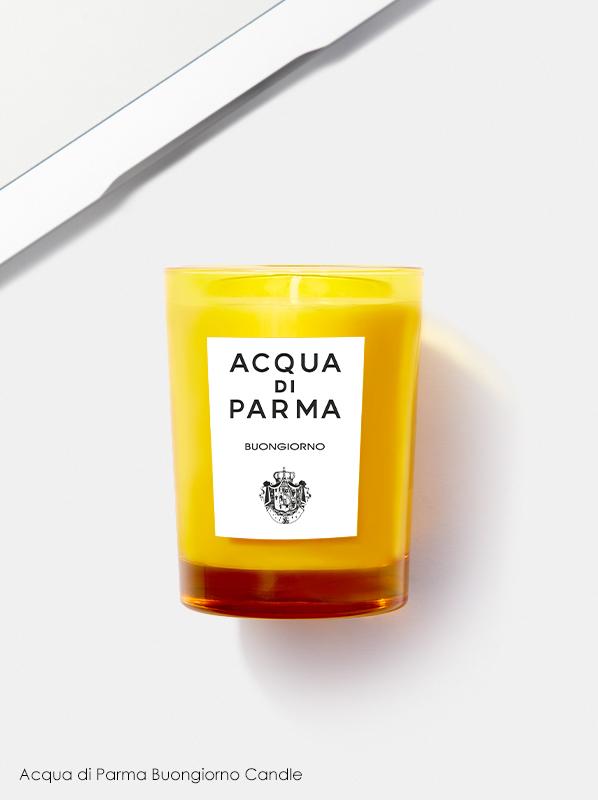 Best Scented Candles: Acqua di Parma Buongiorno Candle