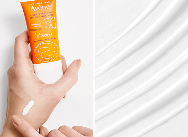 Beauty Team's Favourite Facial SPFs: Avene Sun Care Very High Protection B-Protect SPF50