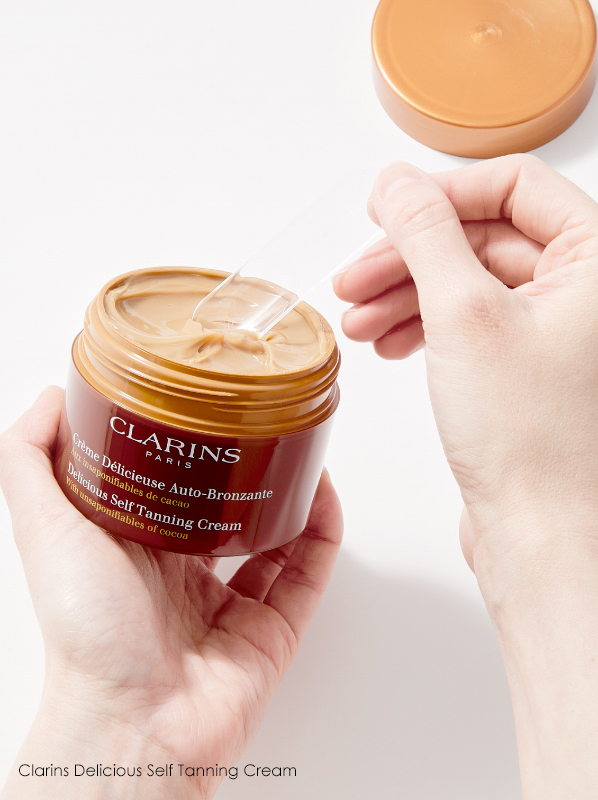 Swatch image of Clarins Delicious Self Tanning Cream