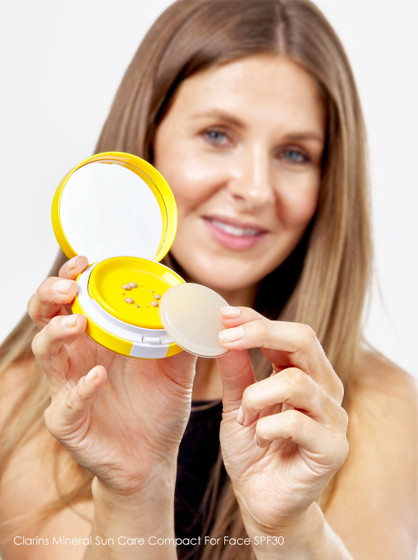 Tinted SPFs: Clarins Mineral Sun Care Compact For Face SPF30