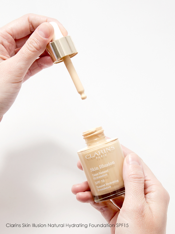Discontinued Foundations: Image of Clarins Skin Illusion Natural Hydrating Foundation SPF15