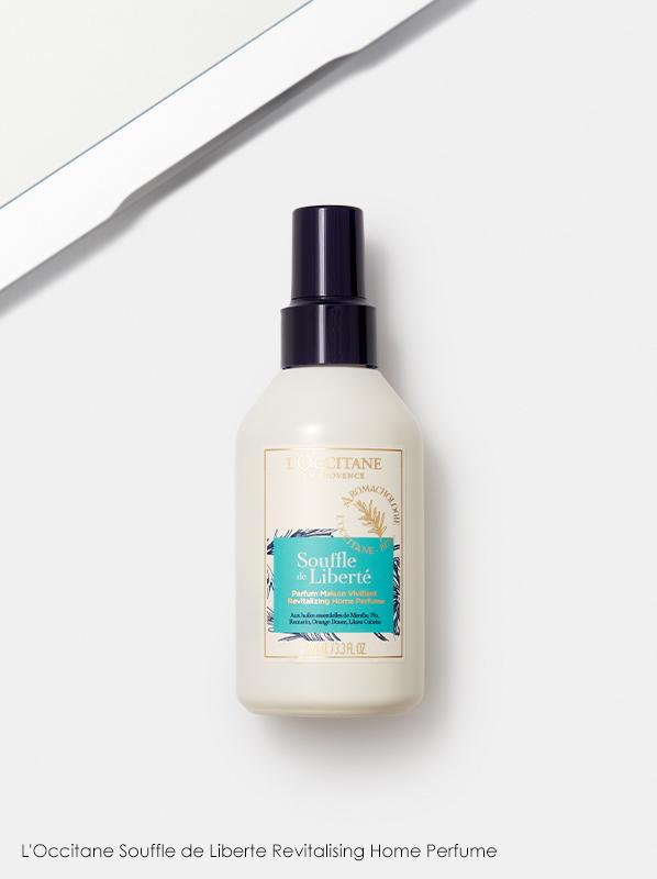 Best Room Sprays: L'Occitane Souffle de Liberte Revitalising Home Perfume
