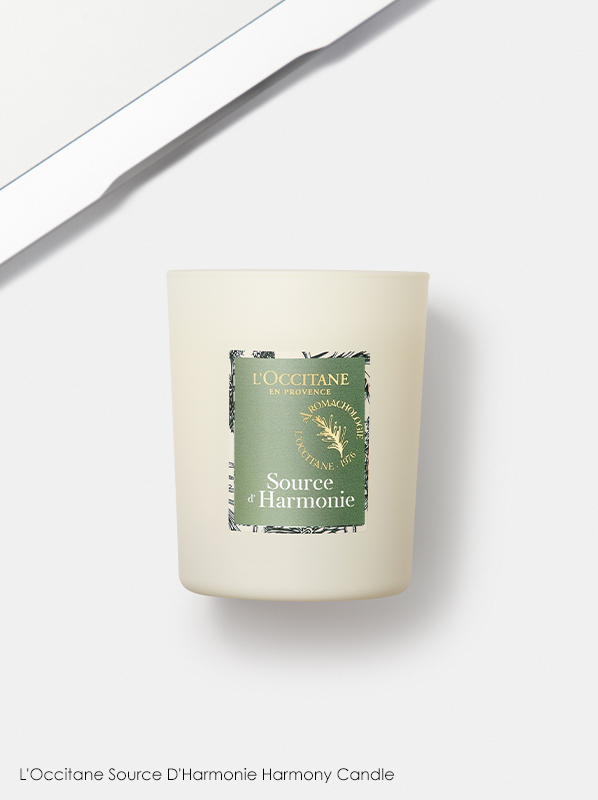 Scented Candles: L'Occitane Source D'Harmonie Harmony Candle