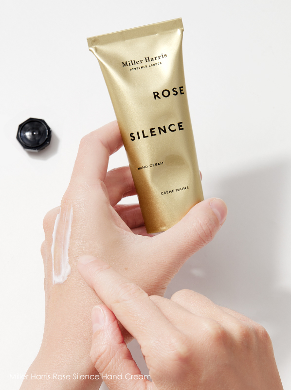 Best Scented Hand Creams: Miller Harris Rose Silence Hand Cream