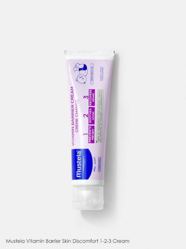 Mustela Skincare: Mustela Vitamin Barrier Skin Discomfort 1-2-3
