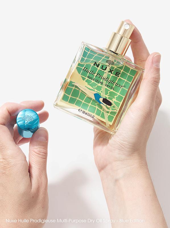 July Beauty Favourites: Nuxe Prodigieuse Multi-Purpose Dry Oil Spray - Blue Edition