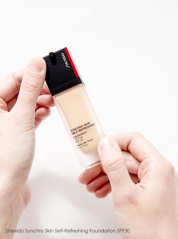Discontinued Foundations: Shiseido Synchro Skin Self-Refreshing Foundation SPF30