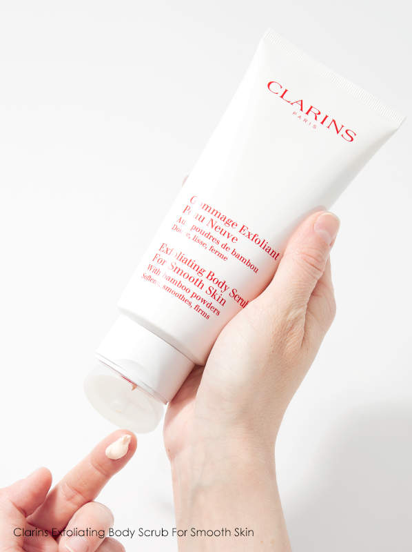 Hand image of Clarins Exfoliating Body Scrub For Smooth Skin