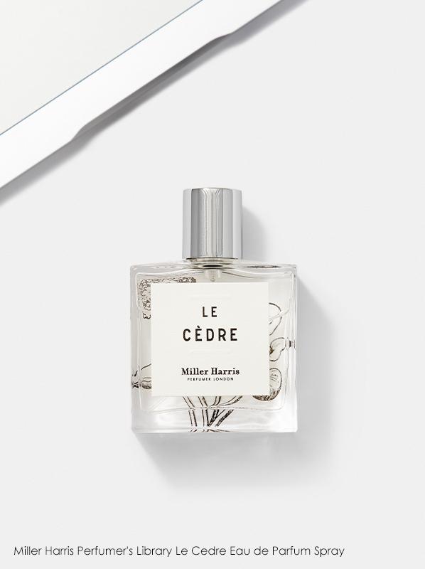 Woody Fragrances: Miller Harris Perfumer's Library La Cedre Eau de Parfum