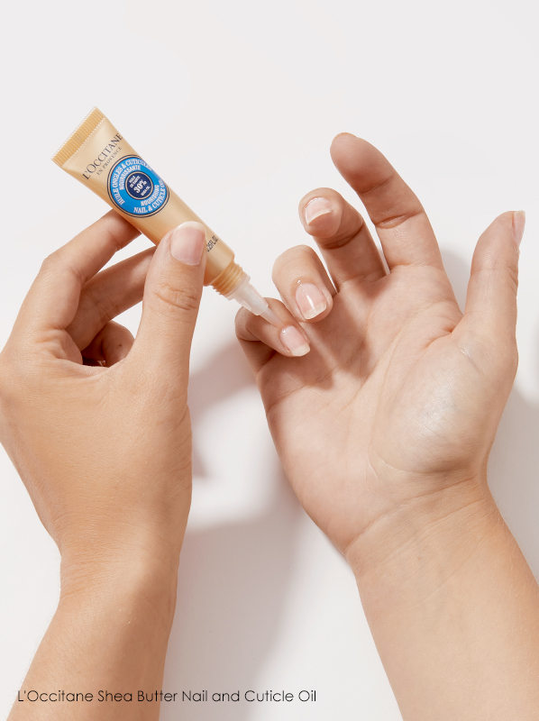 At-Home Manicure: L'Occitane Shea Butter Nail and Cuticle Oil