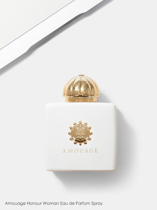 Best White Fragrances; Amouage Honour Woman Eau de Parfum Spray