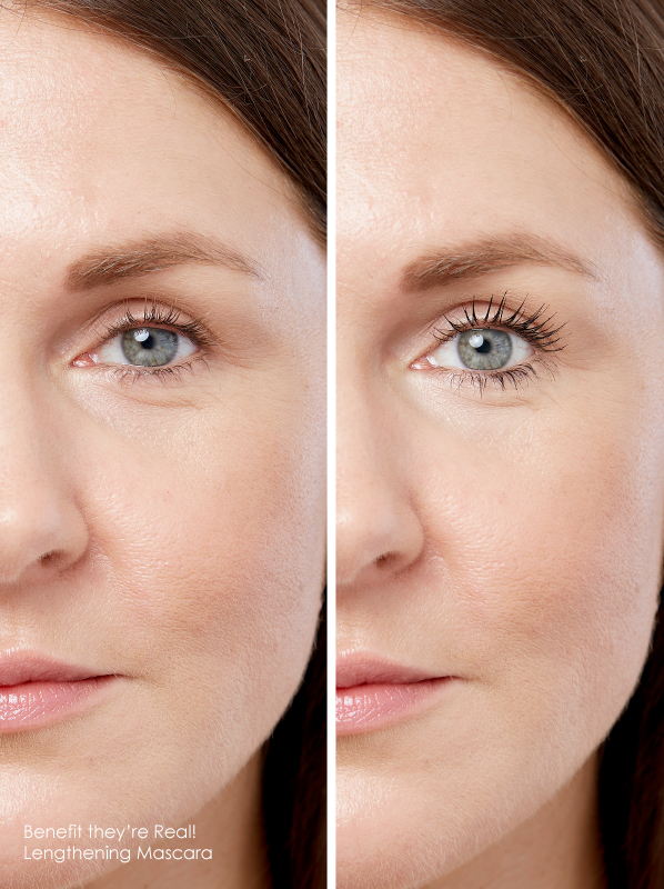 No Clump Mascara: Benefit they're Real! Lengthening Mascara