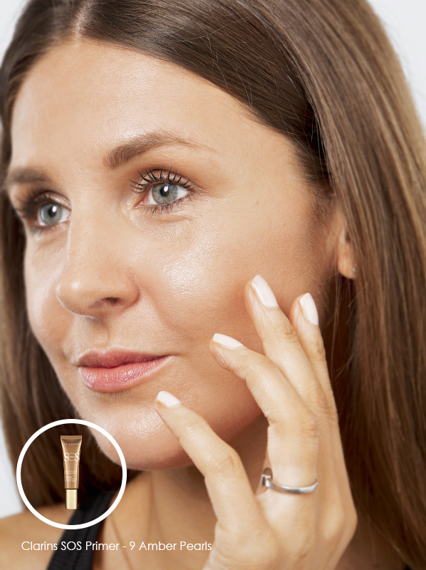 3 Ways to Glow: Clarins SOS Primer - 9 Amber Pearls